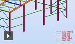 Robot Structural Analysis Professional video: global materials and design code support