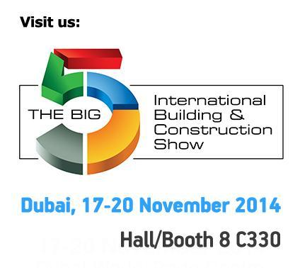 "ACE-Hellas participated at the ""The Big 5 2014"" event, from 17th-20th November 2014 at the Dubai World Trade Centre."
