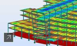 Advance Steel is interoperable with Robot Structural Analysis software