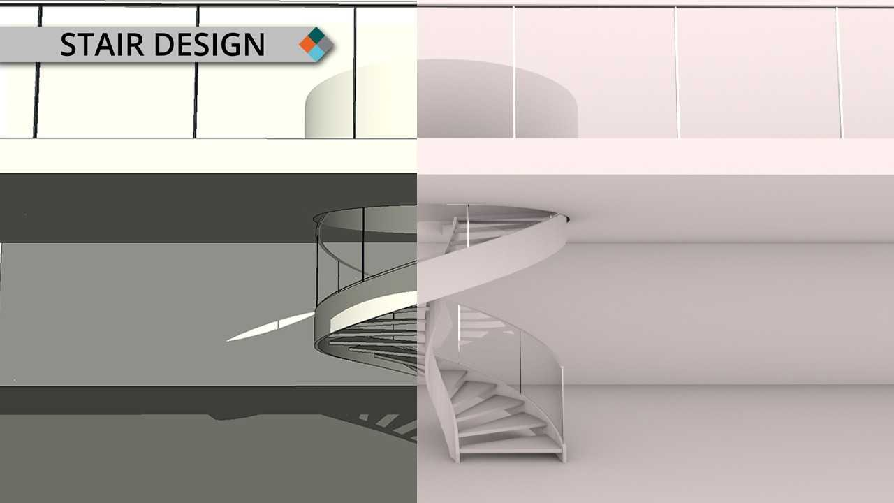 Creative Staircase Designs with ARCHLine.XP!