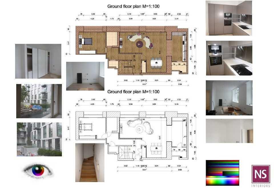 interior design project management template