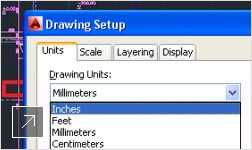When you change drawing units, object tags, text, and other annotation-scaled objects are properly modified