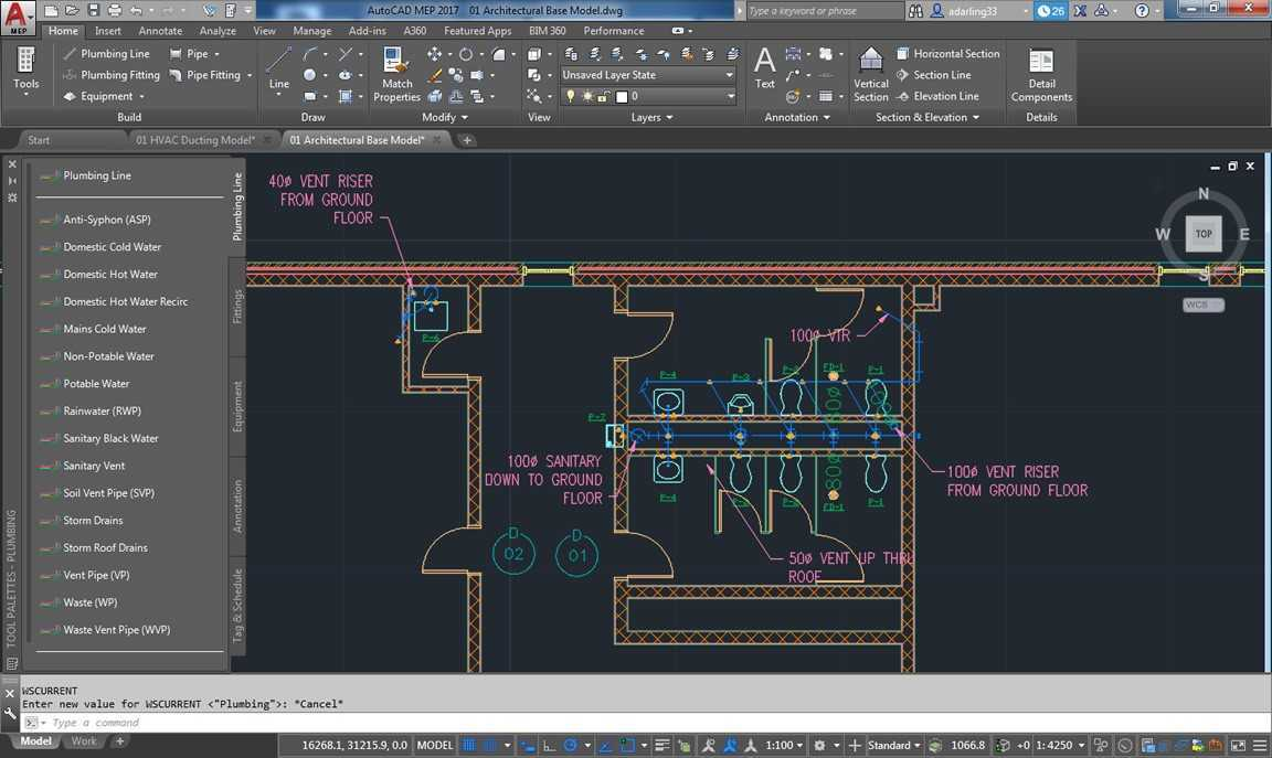 Work on flat 2D AutoCAD floor plans or AutoCAD Architecture geometric model  architectural floor plans