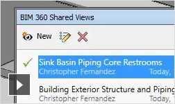 Video: BIM 360 shared views: integration between Navisworks and BIM 360 Glue