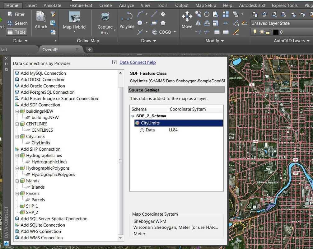 AutoCAD Map 3D - ACE-Hellas S A