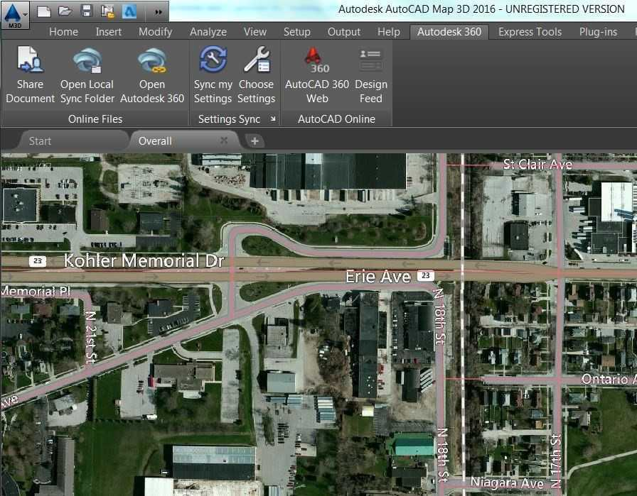 AutoCAD Map 3D - ACE-as S.A. on