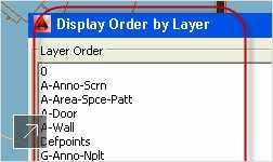Set an order for layers and preview your changes