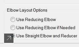 Choose the type of elbow that best fits your design