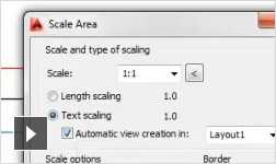 Video: save time with tools designed for mechanical CAD drafting