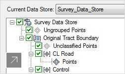 Use survey tools to import, compute, and manage data