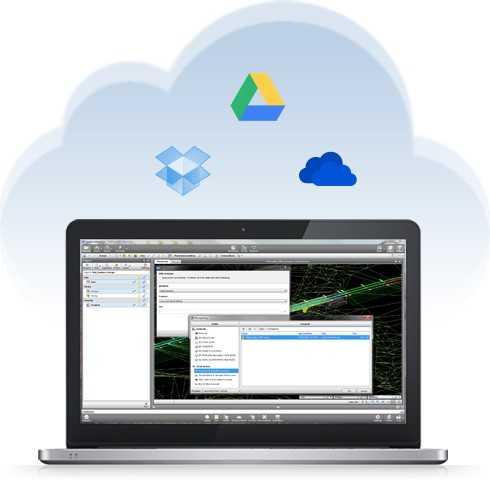 Cloud storage e cloud sharing.